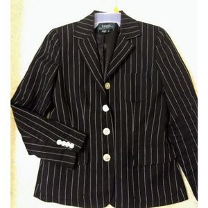 Ralph Lauren vertical Stripe Blazer